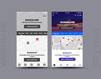 GoCity - Visit Unfamiliar City App Concept