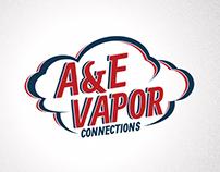 AE Vapor Logo Design