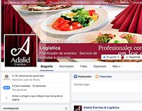 Adalid Eventos: Frontcovers Facebook