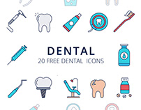 Dental Vector Free Icon Set