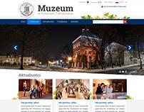 Webisite desing for a Museum in Piotrków Trybunalski