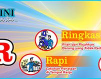 #08 Banner 5S 5R Seiri Seiton Indonesia Free Download