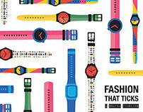 Fashion That Ticks / A Swatch Timeline