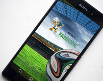 Sony FIFA World Cup Fanzone App