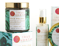 True North Beauty Skincare Packaging Design