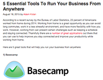 5 Essential Tools to Run Your Business Anywhere