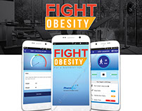 Fight Obesity Mobile App Campaign