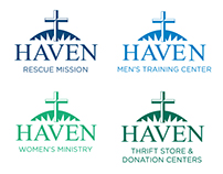 "Haven of Rest Ministries ""Refreshed"" Branding"
