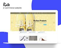 Rate e-commerce website