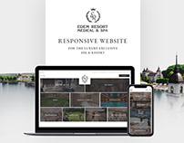 Edem Resort Luxury Resort responsive website