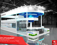 Exhibition stand for GAZPROMBANK