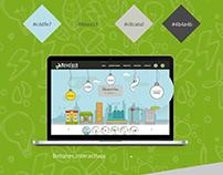 Página web NovoTech Ingeniería 2017