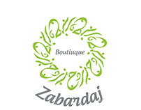Zabardaj Boutique Logo concepts