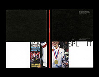 """Split"" Senior Thesis Book Design"