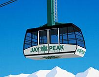 Jay Peak Vermont Ski Resort in New England, USA