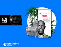 UNBREAKABLE | UI UX design