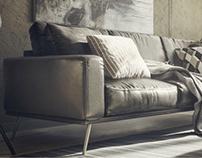 Sofa leather Unreal Engine 4
