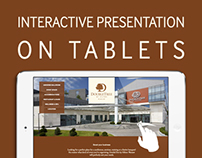 interactive presentation on tablets
