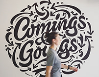 Comings & Goings Mural