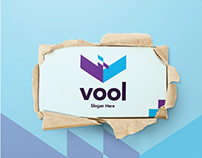 Free* V Logo Template