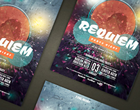 REQUIEM Party Flyer