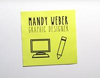 Mandy Weber–Graphic Designer