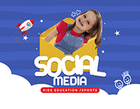 Kids Education / Sports Social media designs