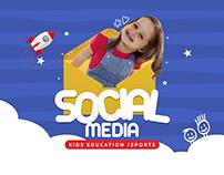 Kids Education / Sports Social media designs