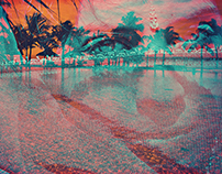 Mauritius double exposure art project