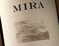Mira Winery Packaging/Logo, Marketing Collateral Design