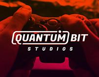 Quantum Bit Studios Logo Design Entry