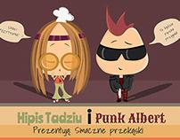 Zilutstrowanie przepisów kulinarnych - Punk i hipis :)