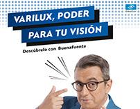 Adaptación y producción de piezas de campaña Varilux.