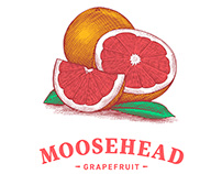 Moosehead Radlers Packaging Illustrated by Steven Noble
