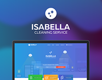 Isabella Cleaning Service - Corporate Website