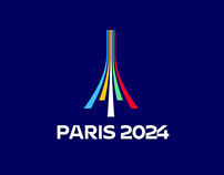Paris 2024 Olympic Games - Brand design