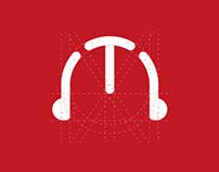 """Tar2a3a"" radio | Logo design"