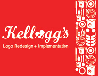 Kellogg's - Logo Redesign and Implementation