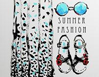 A C R Y L / Summer Fashion Acryl sketches