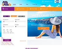 Air Cairo Website