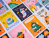 Greeting Cards for Mossery