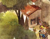 Italian carnet de voyage