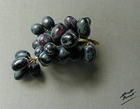 Drawing grapes