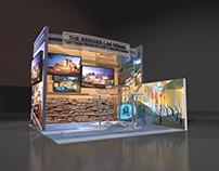 The Bridges tradeshow booth