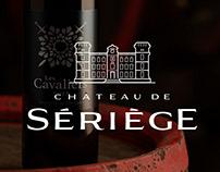 CHÂTEAU DE SÉRIÈGE : Etiquette de Vin