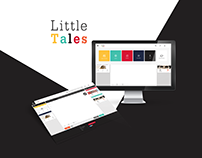 Little Tales - A Web App for Writers.