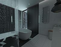 GREYSCALE BATHROOM