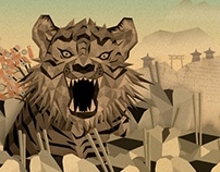 Papertiger & StoneSoup Billboard and process video