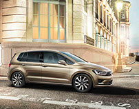"VOLKSWAGEN Catalog ""The new Golf Sportsvan"""