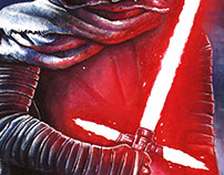 Star Wars: The Force Awakens - Kylo Ren Poster